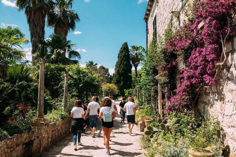arboretum trsteno walk