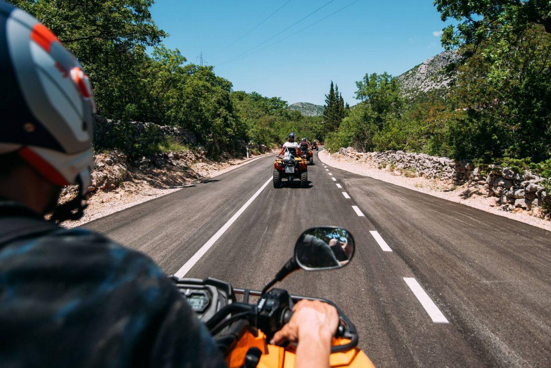 driving avt dubrovnik road