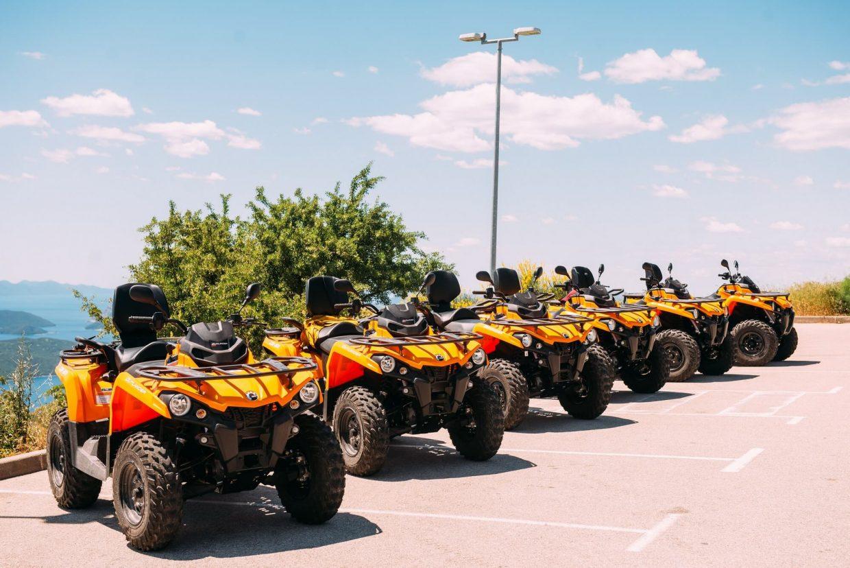 six quad vehicles